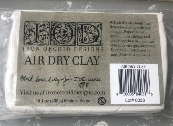 Paper clay new 600x438 - My Shabby Chic Corner - Prodotti Iron Orchid Designs - IOD