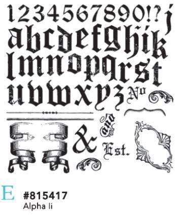Shabby IOD Stamps - My Shabby Chic Corner - Prodotti Iron Orchid Designs - IOD