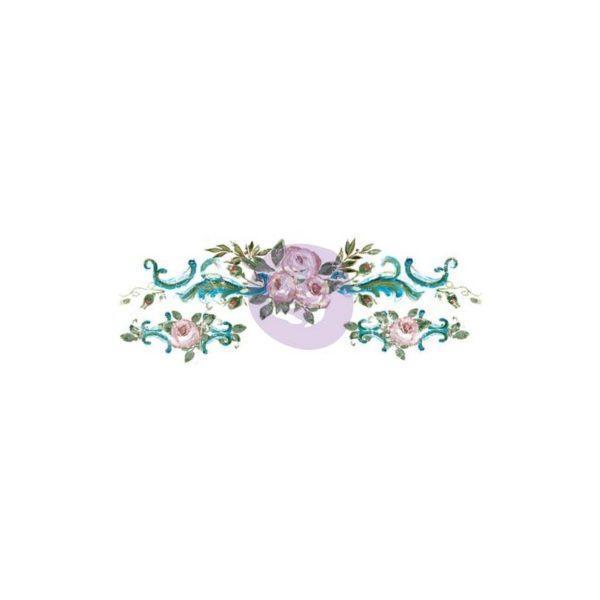 rosette sm 600x600 - My Shabby Chic Corner - Prodotti Iron Orchid Designs - IOD