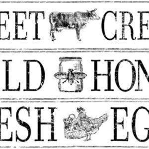 Farm Fresh Signage 300x300 - My Shabby Chic Corner - Prodotti Iron Orchid Designs - IOD