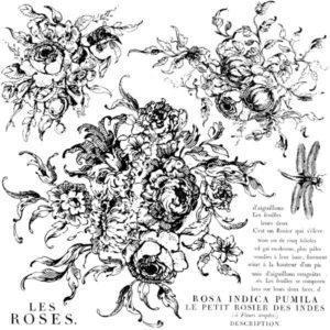 Rose Toile 300x300 - My Shabby Chic Corner - Prodotti Iron Orchid Designs - IOD