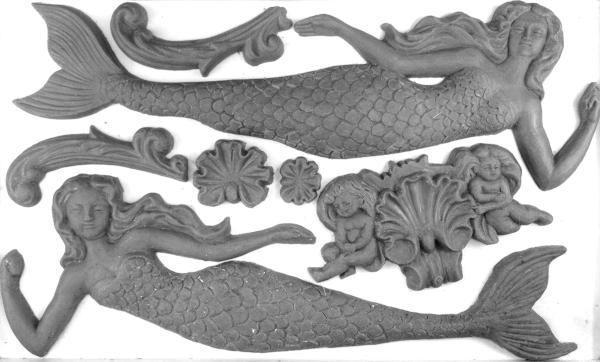 Sea Sisters 600x362 - My Shabby Chic Corner - Prodotti Iron Orchid Designs - IOD