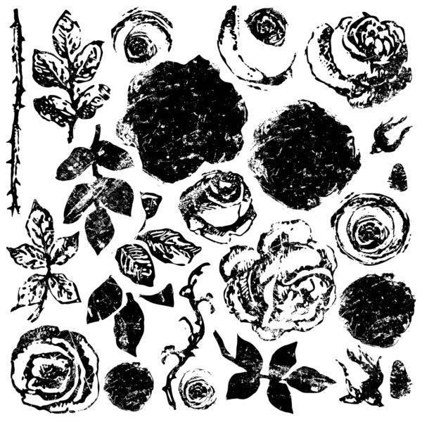 IOD DS PainterlyRoses 600x600 - My Shabby Chic Corner - Prodotti Iron Orchid Designs - IOD