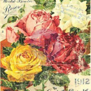 Floral Treasure 300x300 - My Shabby Chic Corner - Prodotti Iron Orchid Designs - IOD
