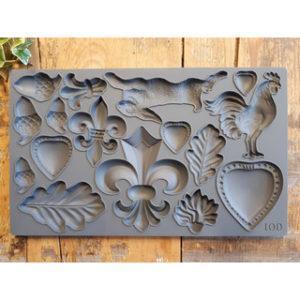 iod mould fleur de lis 1 300x300 - My Shabby Chic Corner - Prodotti Iron Orchid Designs - IOD