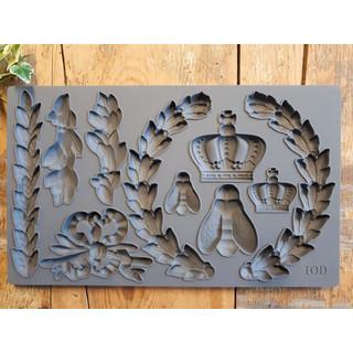 iod mould laurel 1 - My Shabby Chic Corner - Prodotti Iron Orchid Designs - IOD
