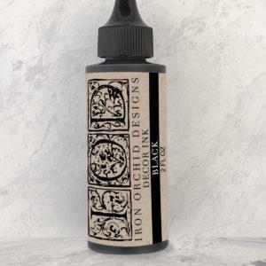 IOD DecorInk Black 300x300 - My Shabby Chic Corner - Prodotti Iron Orchid Designs - IOD