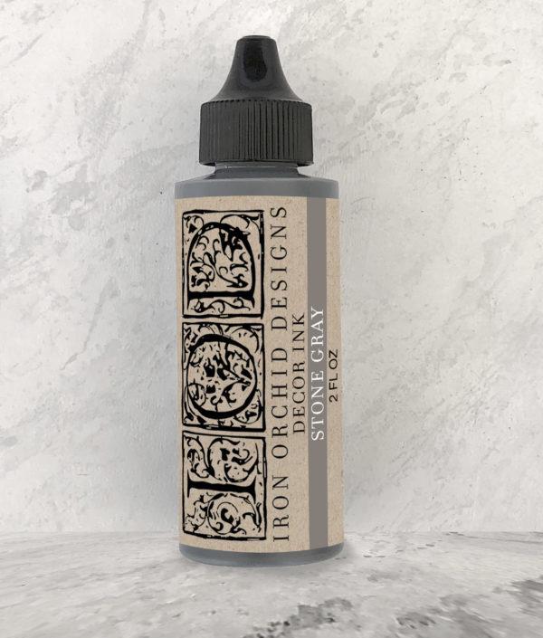 IOD DecorInk StoneGray 600x705 - My Shabby Chic Corner - Prodotti Iron Orchid Designs - IOD