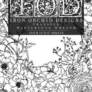 Wintersong wreath1 300x300 - My Shabby Chic Corner - Prodotti Iron Orchid Designs - IOD