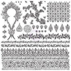 Decor Stamp Bohemian 300x300 - My Shabby Chic Corner - Prodotti Iron Orchid Designs - IOD