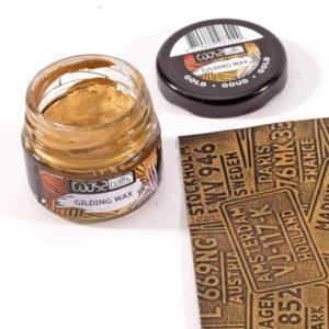 Gilding wax maetal Gold 300x300 - My Shabby Chic Corner - Prodotti Iron Orchid Designs - IOD