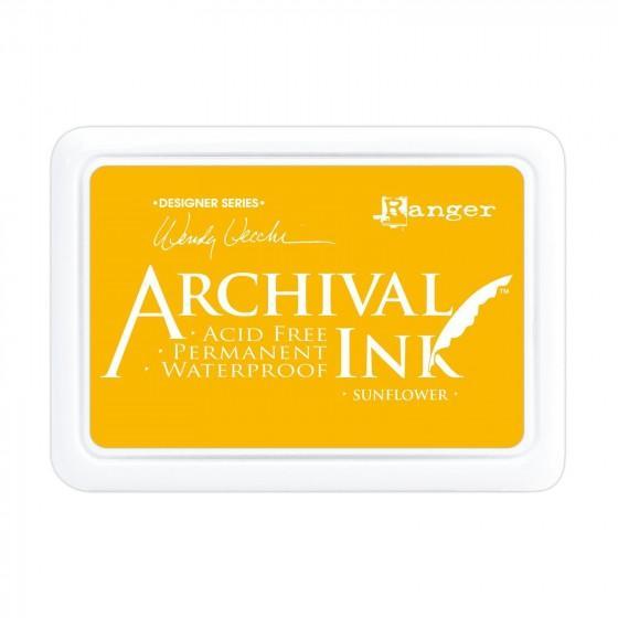 Ink pad Giallo Girasole - My Shabby Chic Corner - Prodotti Iron Orchid Designs - IOD