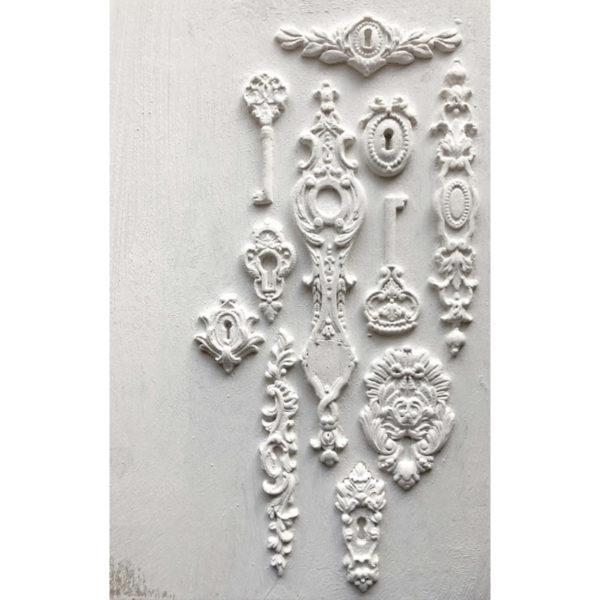 iod mould lock key 13 600x600 - My Shabby Chic Corner - Prodotti Iron Orchid Designs - IOD