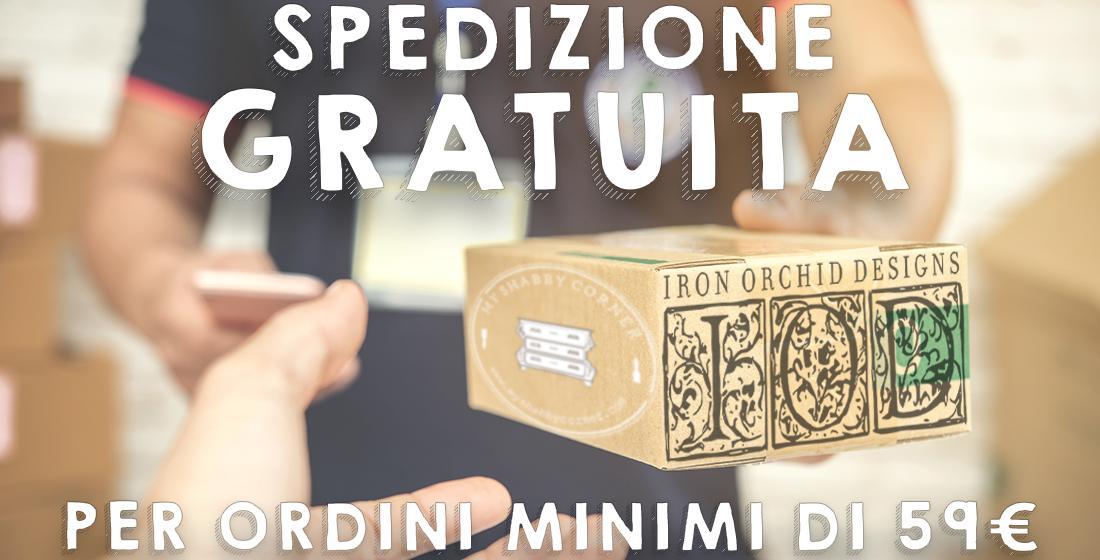 free shipping 2 - My Shabby Chic Corner - Prodotti Iron Orchid Designs - IOD