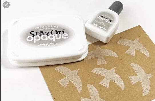 stazon cotton white - My Shabby Chic Corner - Prodotti Iron Orchid Designs - IOD