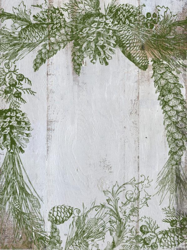 Evergreen Mockup 600x799 - My Shabby Chic Corner - Prodotti Iron Orchid Designs - IOD