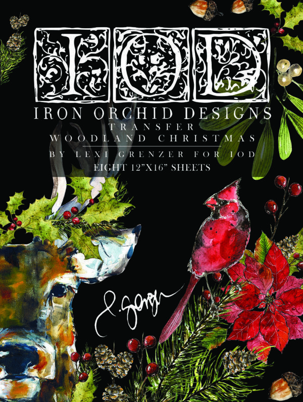 IOD DT Woodland Christmas Front 600x796 - My Shabby Chic Corner - Prodotti Iron Orchid Designs - IOD