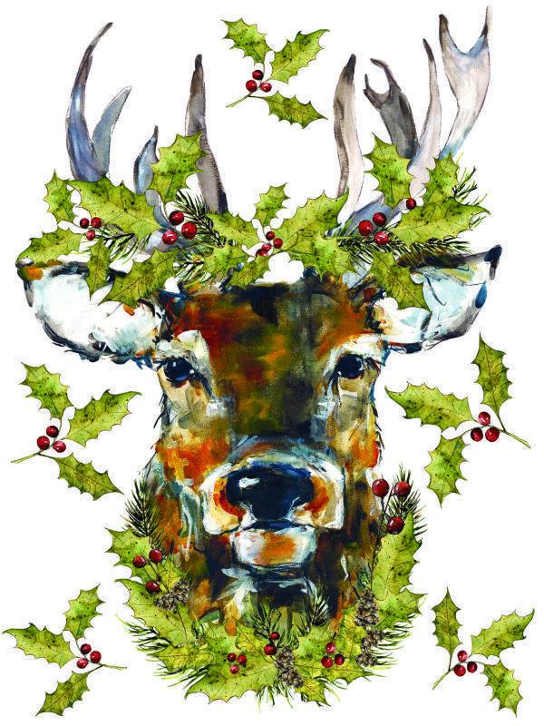 IOD Woodland Christmas 1 600x800 - My Shabby Chic Corner - Prodotti Iron Orchid Designs - IOD