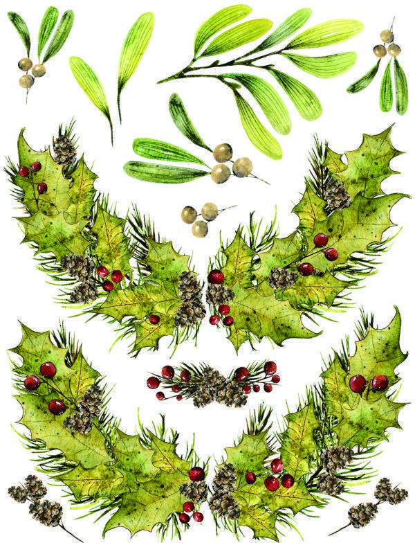 IOD Woodland Christmas 2 600x800 - My Shabby Chic Corner - Prodotti Iron Orchid Designs - IOD