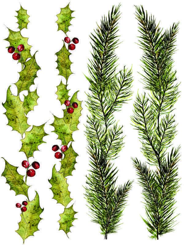 IOD Woodland Christmas 4 600x800 - My Shabby Chic Corner - Prodotti Iron Orchid Designs - IOD