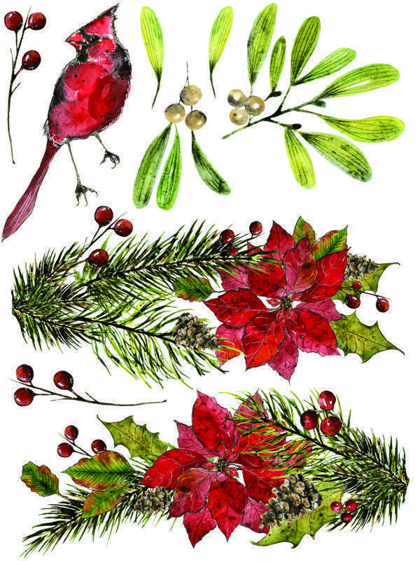 IOD Woodland Christmas 5 600x800 - My Shabby Chic Corner - Prodotti Iron Orchid Designs - IOD