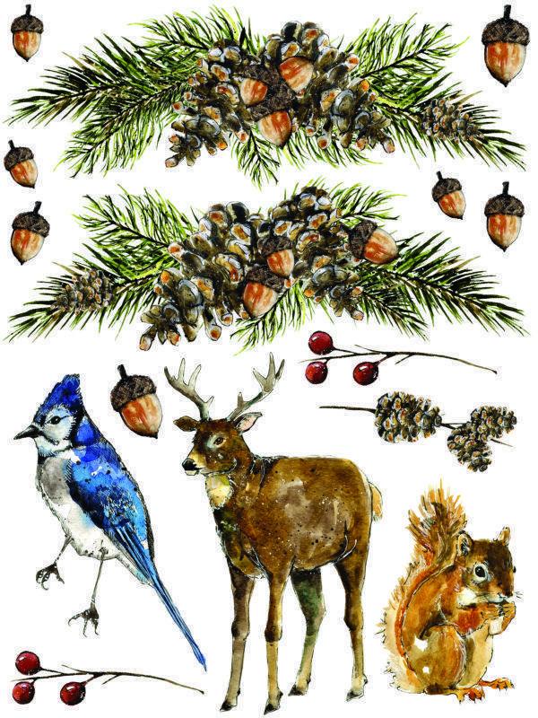 IOD Woodland Christmas 6 600x800 - My Shabby Chic Corner - Prodotti Iron Orchid Designs - IOD