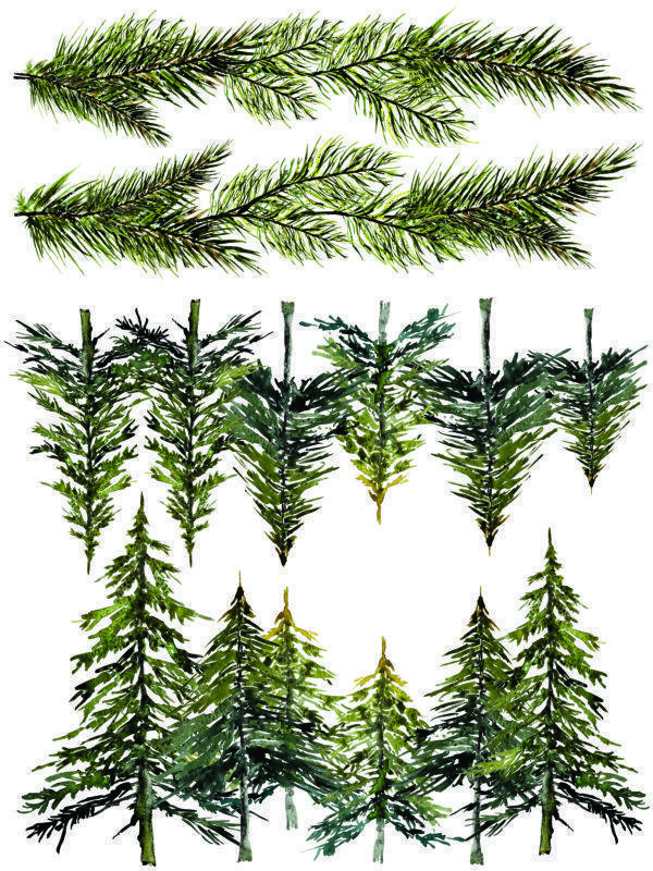 IOD Woodland Christmas 7 600x800 - My Shabby Chic Corner - Prodotti Iron Orchid Designs - IOD