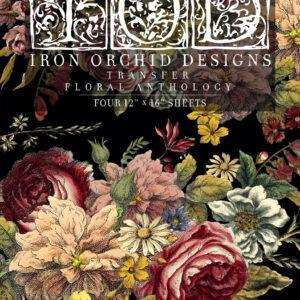Floral Anthology FRONT 300x300 - My Shabby Chic Corner - Prodotti Iron Orchid Designs - IOD