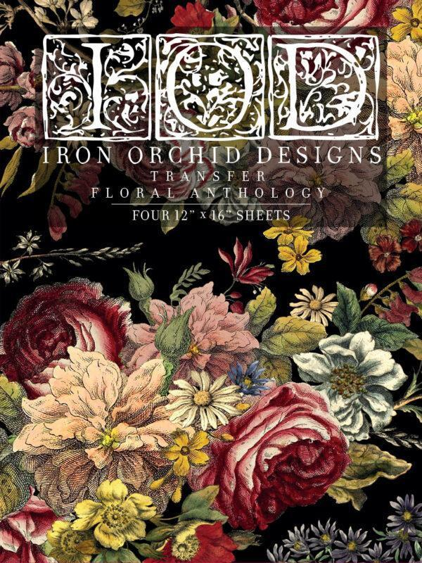 Floral Anthology FRONT 600x800 - My Shabby Chic Corner - Prodotti Iron Orchid Designs - IOD
