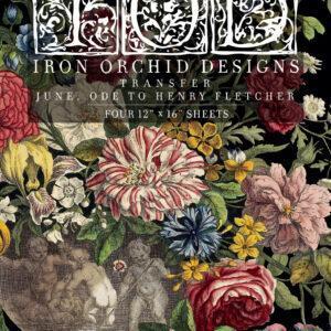 June FRONT 300x300 - My Shabby Chic Corner - Prodotti Iron Orchid Designs - IOD