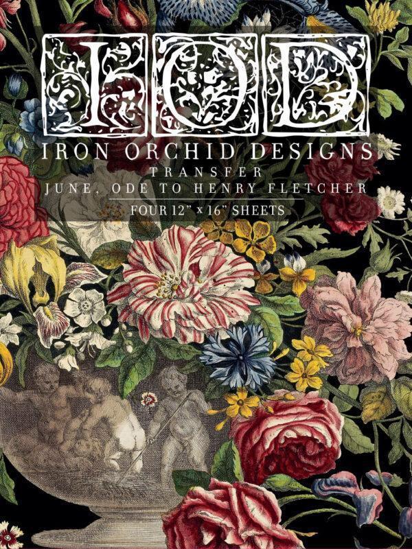 June FRONT 600x800 - My Shabby Chic Corner - Prodotti Iron Orchid Designs - IOD