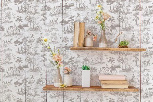 English Toile5 600x400 - My Shabby Chic Corner - Prodotti Iron Orchid Designs - IOD