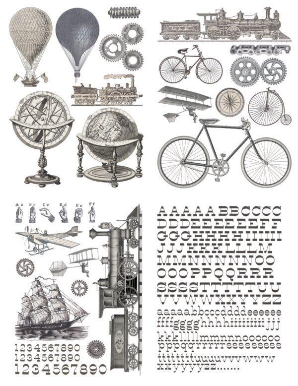 IMG 7274 600x778 - My Shabby Chic Corner - Prodotti Iron Orchid Designs - IOD