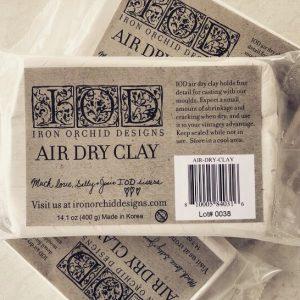 Pasta modellabile IODPaper clay IOD 300x300 - My Shabby Chic Corner - Prodotti Iron Orchid Designs - IOD
