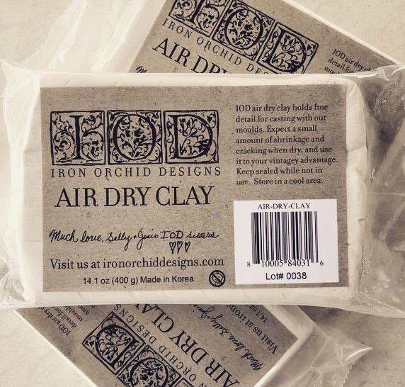Pasta modellabile IODPaper clay IOD - My Shabby Chic Corner - Prodotti Iron Orchid Designs - IOD