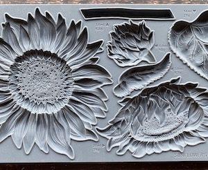 Sunflowers2 300x246 - My Shabby Chic Corner - Prodotti Iron Orchid Designs - IOD