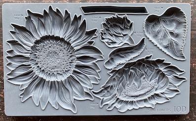 Sunflowers2 - My Shabby Chic Corner - Prodotti Iron Orchid Designs - IOD