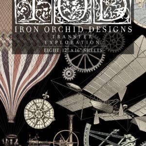Transfer Exploration 300x300 - My Shabby Chic Corner - Prodotti Iron Orchid Designs - IOD