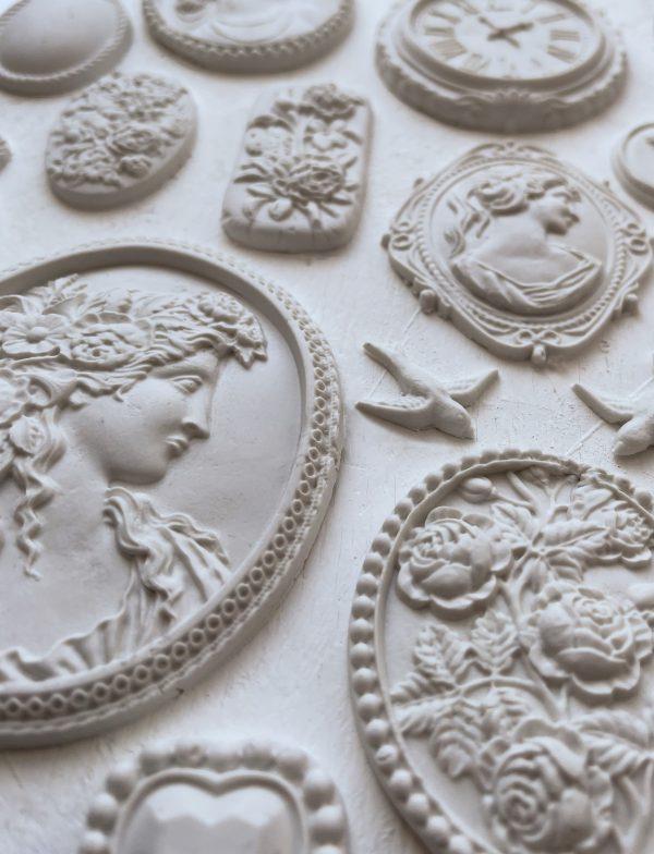 Copy of Cameos pic 600x784 - My Shabby Chic Corner - Prodotti Iron Orchid Designs - IOD