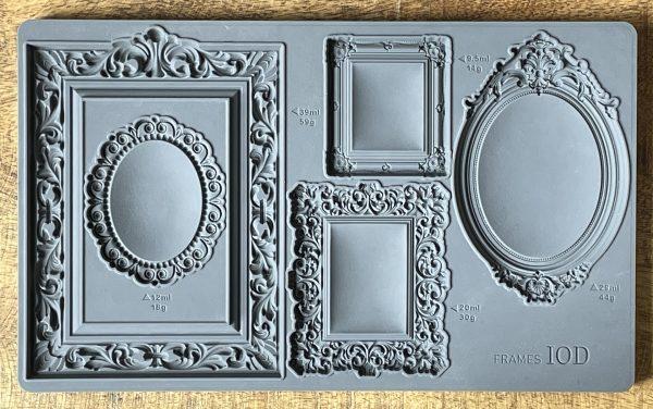 Frames Mould 600x376 - My Shabby Chic Corner - Prodotti Iron Orchid Designs - IOD