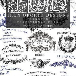 IOD TRA POT FRONT 1 300x300 - My Shabby Chic Corner - Prodotti Iron Orchid Designs - IOD