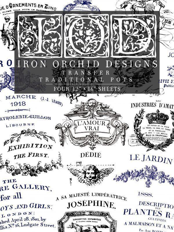 IOD TRA POT FRONT 1 600x800 - My Shabby Chic Corner - Prodotti Iron Orchid Designs - IOD