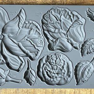 Roses Mould 300x300 - My Shabby Chic Corner - Prodotti Iron Orchid Designs - IOD